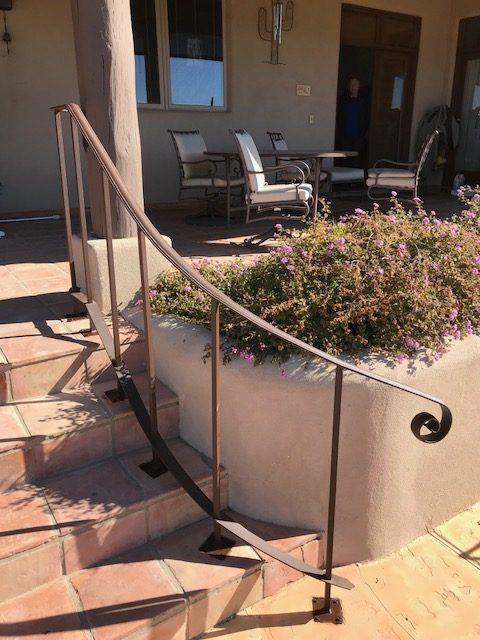 wrought Iron Handrails