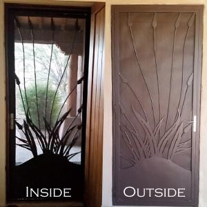 Custom Welding Iron Security Door